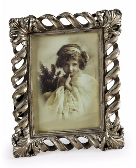 """Antikvarinio stiliaus sidabro spalvos foto rėmelis """"Twist"""""""