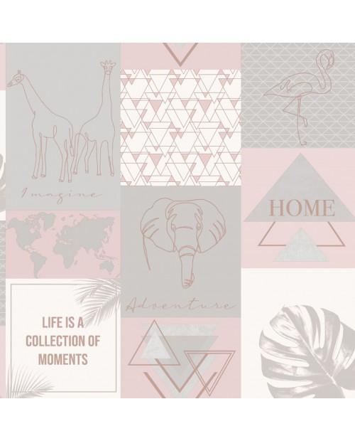 Adventure Pink/Grey