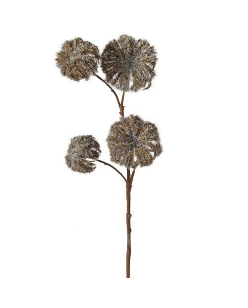 "Dirbtinė gėlė ""Brown Dry Clematis"""