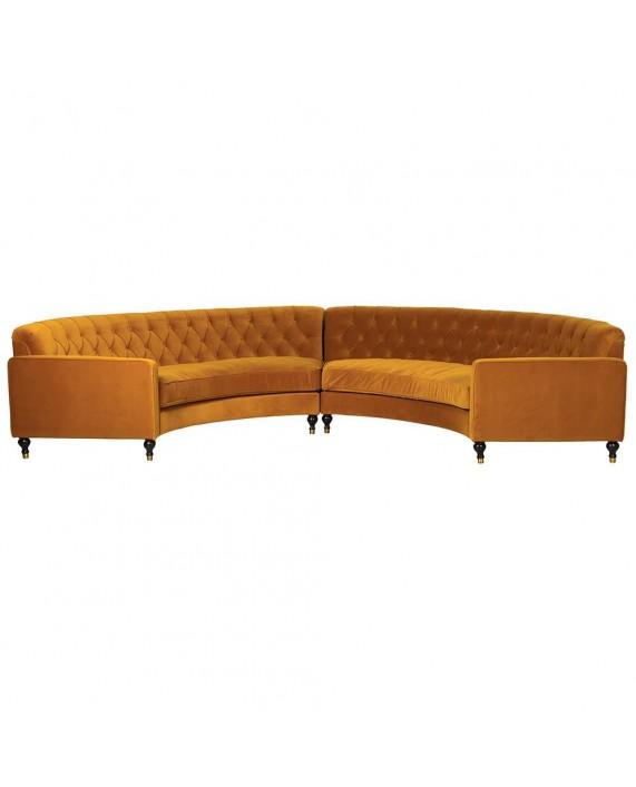 "Sofa ""Amadora Orange"""