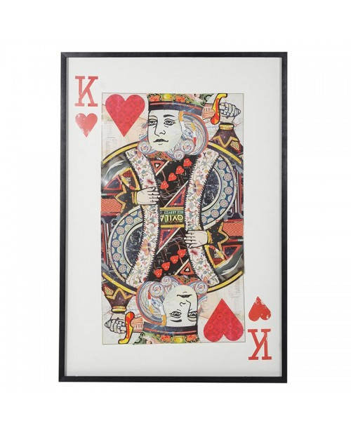"""Paveikslas """"Collage King of Hearts"""""""