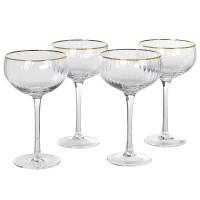 "Šampano taurės ""GREDA 2"" (4vnt)"
