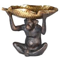 "Dekoracija ""Monkey/Gold Leaf"""