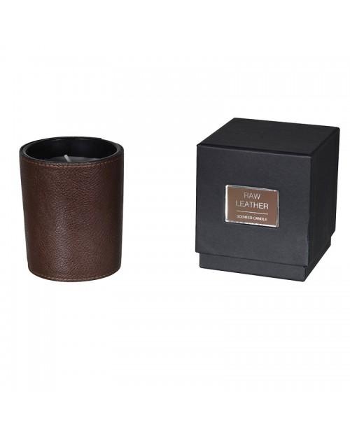 """""""Raw Leather"""" aromatinė žvakė"""
