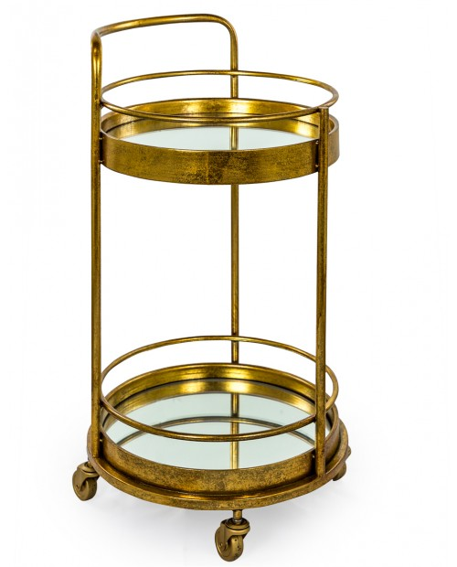 "Baro vežimėlis ""ANTIQUE GOLD/MIRROR"""
