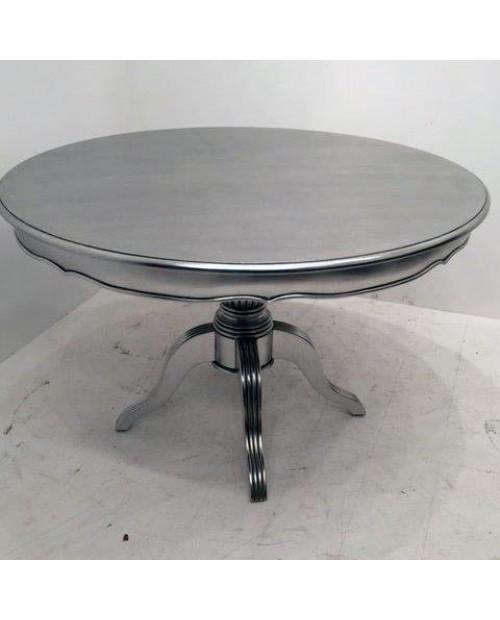 Apvalus pietų stalas